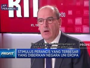 Dampak Covid-19, Perancis Siapkan Stimulus EUR 100 Miliar