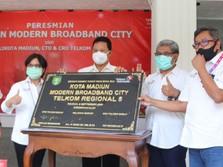 Telkom Akselerasi Digitalisasi Modern City Madiun