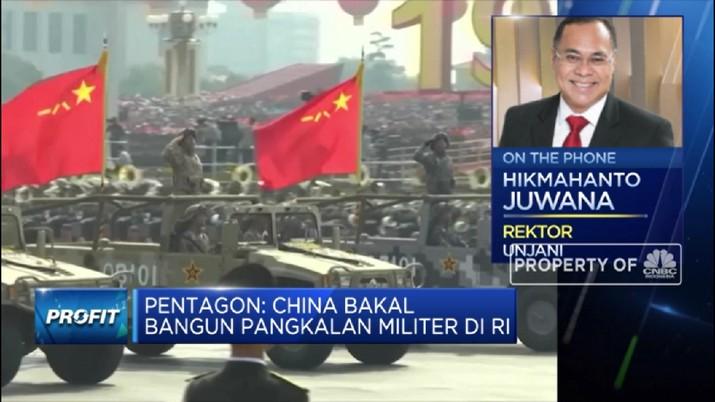 Ini Kata Pengamat Soal Isu China Bangun Pangkalan Militer di RI  (CNBC Indonesia TV)