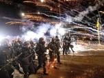 Demo Anti-Rasisme Hari ke-100 di AS Berujung Ricuh