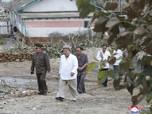 Kim Jong Un Muncul Usai Topan Mengamuk