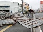 Sedih, Ini Potret Terbaru Jepang yang Diterjang Topan Haishen
