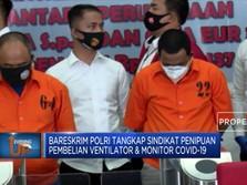 Polisi Tangkap Penipu Pembelian Ventilator & Monitor Covid-19