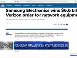 Samsung Menangkan Kontrak 5G di AS