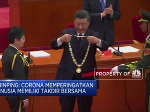 Corona, Xi Jinping Klaim China Selamatkan Puluhan Juta Jiwa