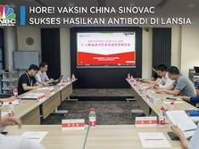 Hore! Vaksin China Sinovac Sukses Hasilkan Antibodi di Lansia
