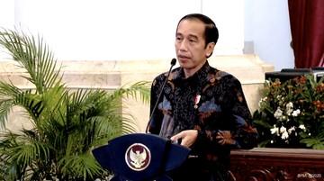 presiden joko widodo dalam kick off meeting pemeriksaan atas pengelolaan dan tanggung jawab keuangan negara dalam pandemitangk 169