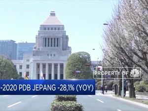Q2-2020, PDB Jepang -28,1% (YoY)