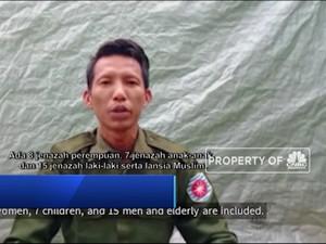 Cerita Tentara Myanmar Atas Aksi Pembantaian Muslim Rohingya
