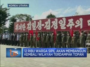 Titah Kim Jong Un Untuk Memulihkan Wilayah Terdampak Topan
