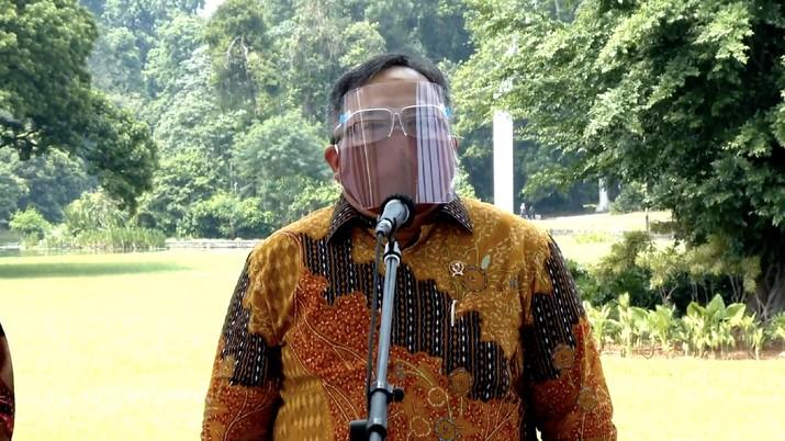 Menteri Riset dan Teknologi Bambang Brodjonegoro (Tangkapan Layar Youtube Sekretariat Presiden)