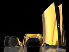 PS5 Berlapis Emas 24 Karat Sudah Bisa Dipesan, Harganya?