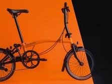 Bikin Terkejut, Harga Sepeda Lipat Brompton Makin Turun!