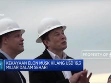 Wow! Kekayaan Elon Musk Hilang Rp 236,3 Triliun Dalam Sehari