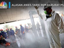 Alasan Anies Tarik Rem Darurat dengan Berlakukan PSBB Total