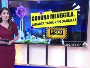 Corona Menggila, Jakarta Tarik Rem Darurat
