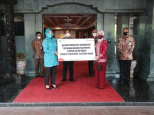 #GebrakMasker, Pertamina Serahkan 500.000 Masker Rp 1 M