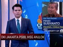 Khawatirkan Dampak PSBB DKI, Aksi Jual Investor Kian Ramai