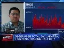 Jakarta PSBB Penuh, Panic Selling Hantam Sektor Perbankan