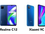 Redmi 9C vs Realme C12, Mana yang Lebih Canggih?