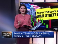 Saham Teknologi Ambrol, Wall Street Jeblok