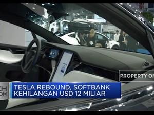 Tesla Rebound, Softbank Kehilangan USD 12 Miliar