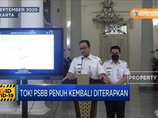 Tok! PSBB Penuh Kembali Diterapkan di Jakarta