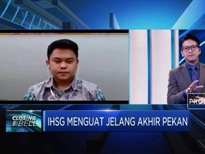 Akhir Pekan, IHSG Ditutup Menguat 2,5%
