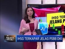 IHSG Terbakar Jelang PSBB Jakarta