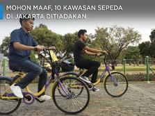 Mohon Maaf, 10 Kawasan Sepeda di Jakarta Ditiadakan