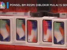 Ponsel BM Resmi Diblokir Mulai 15 September