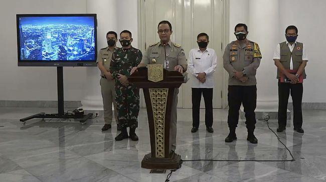 Pernyataan Lengkap Anies Soal Pengetatan Psbb Jakarta Simak