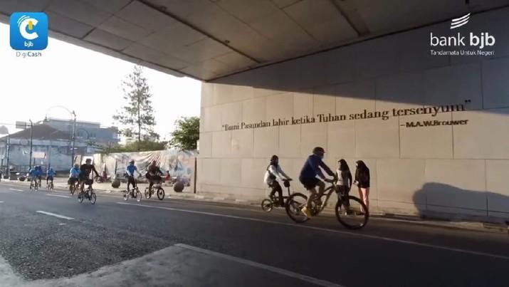 Kian Semarak, 2.300 Goweser Ramaikan bjb Cycling DigiCash V-Ride Series 3. Dok: Bank BJB