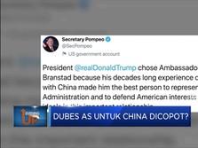 Dubes AS Untuk China Dicopot?