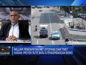 Penumpang Anjlok Saat PSBB, Ini Sumber Pendapatan MRT Jakarta