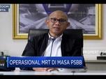 PSBB Diperketat, MRT Jakarta Tingkatkan Disiplin Penumpang