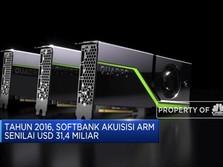 Softbank Jual ARM ke NVIDIA Senilai USD 40 Miliar