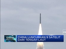 China Sukses Luncurkan Roket Long March-11
