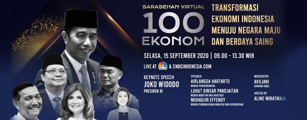 Sarasehan 100 Ekonom, INDEF x CNBC Indonesia