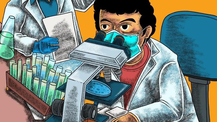 Infografis/ Daftar Pengembangan Vaksin di RI/Aristya Rahadian