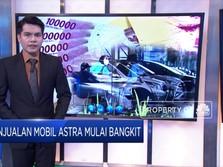 Masih Pandemi, Penjualan Mobil Astra Mulai Bangkit