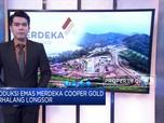 Produksi Emas Merdeka Cooper Gold Terhalang Longsor
