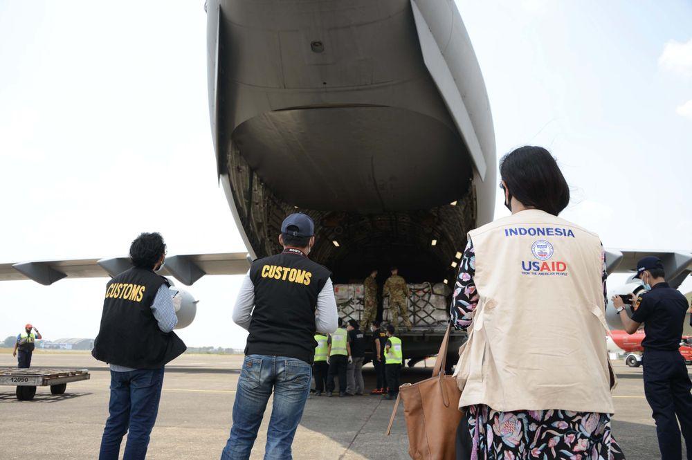 Tambahan 400 ventilator asal AS tiba di Indonesia di bulan September 2020. Dok: Kedutaan Besar Amerika Serikat