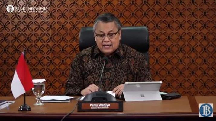 Hasil Rapat Dewan Gubernur (RDG) Bulanan BI - September 2020 (Tangkapan Layar Youtube)