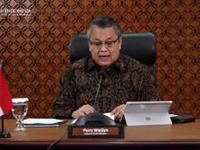 BI Tahan Suku Bunga Acuan 4% di Tengah Deflasi Beruntun