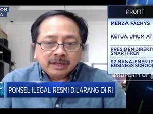 ATSI: Pelarangan Ponsel Ilegal Dorong Produksi HP Lokal