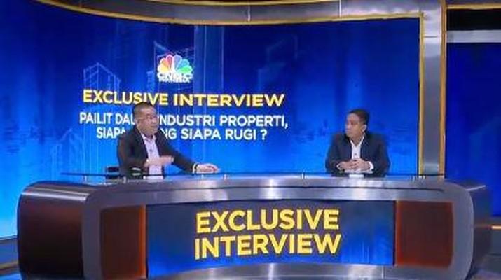 Erwin Kallo, Lembaga Advokasi Konsumen Properti Indonesia. (CNBC Indonesia TV)