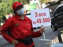 Beda Jurus, Pizza Hut dan McD Soal Jualan di Pinggir Jalan
