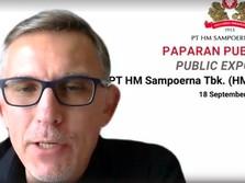 Bos HM Sampoerna Blak-blakan Respons Kenaikan Cukai Rokok