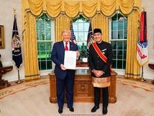 Dubes RI untuk AS Ketemu Trump, Bahas Apa Ya?